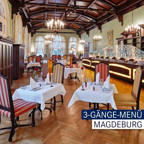 Dorint Magdeburg - 3-Gänge-Menü