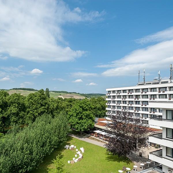 Übernachten im Dorint Parkhotel Bad Neuenahr