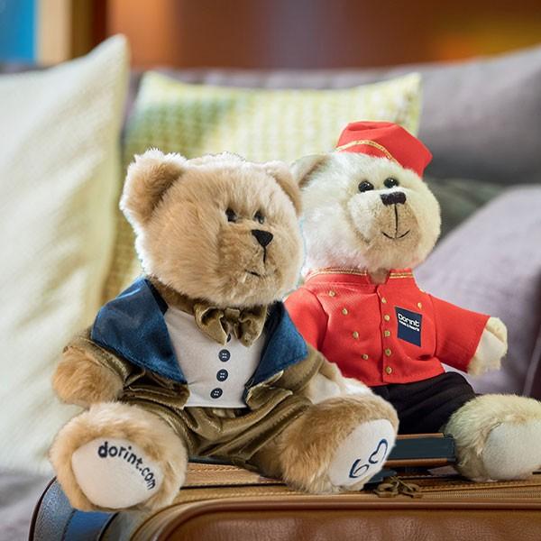 Dorint Teddybär - SET - Jubiläumsbär und Page